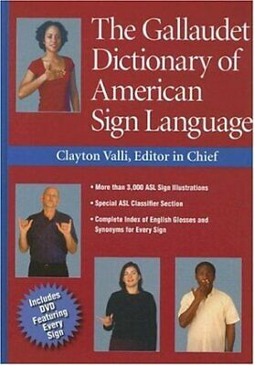 NEW - The Gallaudet Dictionary of American Sign Language