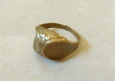 Rare Ancient Viking Bronze Ring Old  Artifact Stunning Authentic