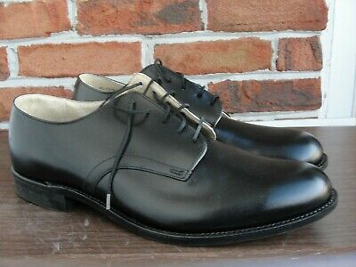Men's Wolverine Angelo Black Leather Oxford Size 8 8.5 New and 13