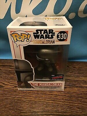 Official 2019 NYCC Sticker Funko POP Star Wars THE MANDALORIAN #33 | NM, In Hand