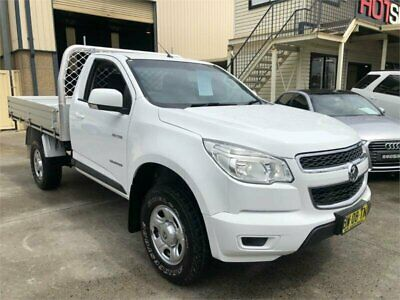 2013 Holden Colorado RG LX White Automatic A Cab Chassis