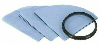 Shop Vac REUSABLE DISC FILTERS 3Pcs With Ring, Dry Pick Up Only *USA Brand