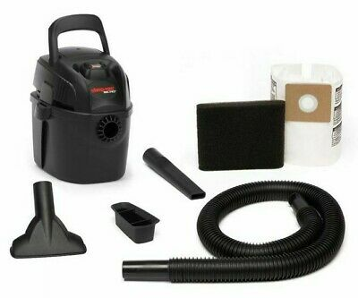 Shop Vac PORTABLE MICRO WET/DRY VACUUM 4L 1100W Top Carry Handle *USA Brand
