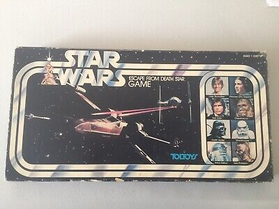 Vintage Star Wars Toltoys Escape From The Death Star Game