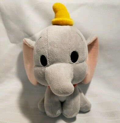 Dumbo The Flying Elephant from Disney Parks cute bobble head plush new with tags