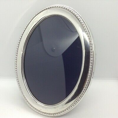 Sterling Silver Sheffield 1988 Oval Photograph Frame