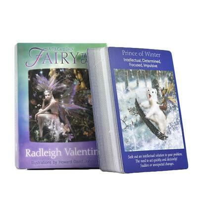Fairy Tarot Cards: A 78-Card Deck and Guidebook New Cards Book 3.9 x 2.1 x 5.4in