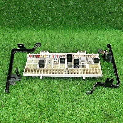 Porsche 928 - Fuse Relay Board Box With Brackets - 92861010503
