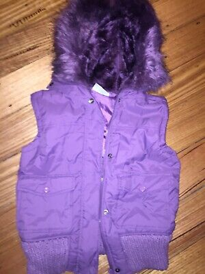 Girls Puffer Vest With Hood  Sz 12 - 13 ~ 5 Items Girls Clothes Free Post Offer*
