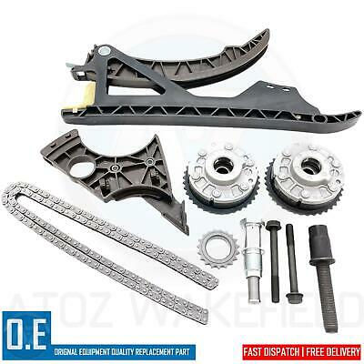 FOR BMW 116i 316i 316ti N45B16A TIMING CHAIN TENSIONERS GUIDES VVT GEARS KIT
