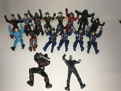 Junk Drawer Toy Action Figures mix Lot of 16 figures