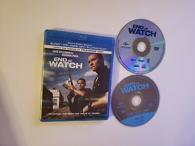End of Watch (Bluray/DVD, 2012) [BUY 2 GET 1]