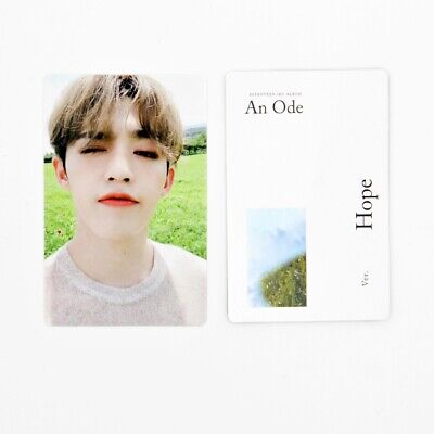 [SEVENTEEN]An Ode 독:Fear Official Photocard/Hope Ver. B-1. S.coups