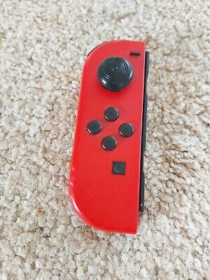 Left Nintendo Switch Official Joy Con Mario Odyssey Editon Red Joycon