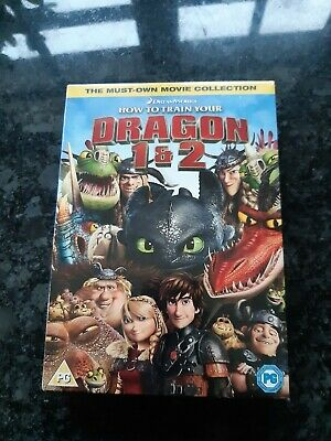 How To train Your Dragon 1&2 Box Set Dvd