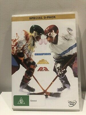 The Mighty Ducks Trilogy 3 Pack DVD - FREE POST