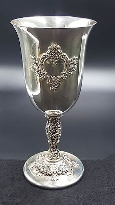 RARE International Silver duBarry Webster & Wilcox Water Goblet, 10!