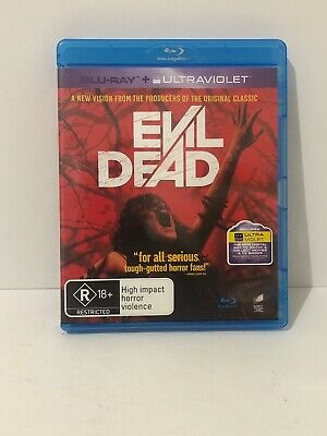 Evil Dead Blu-ray VGC Aus Seller Fast & Free Shipping