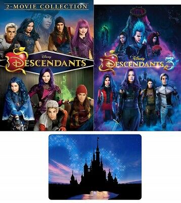 Descendants 1 2 3 DVD. New and sealed