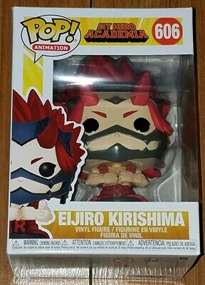 Funko Pop Animation #606 Eijiro Kirishima My Hero Academia In Hand