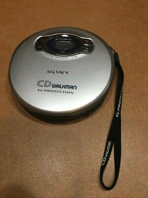 """Sony CD Player Portable Walkman G-Protection """"WORKS GREAT""""!!!!!!"""
