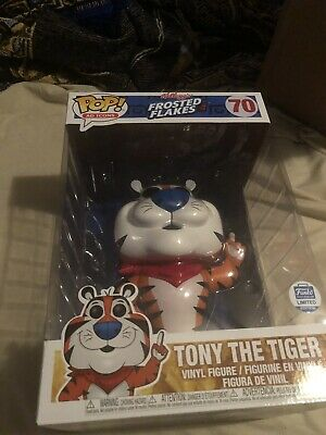 """Funko Pop! Tony the Tiger 10"""" Super Size Frosted Flakes Ad Icons Limited Edition"""