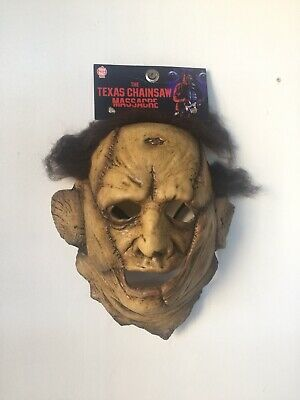 🎃 NEW Texas  Chainsaw Massacre Leatherface Costume Mask Trick Or Treat Studios