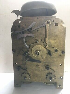 Good Double Fusee Antique Clock Movement