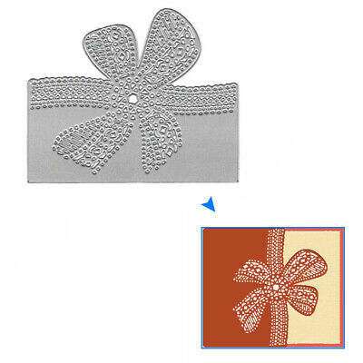 Bow Lace Metal Cutting Dies Stencil DIY Scrapbooking Paper Card Making Craft