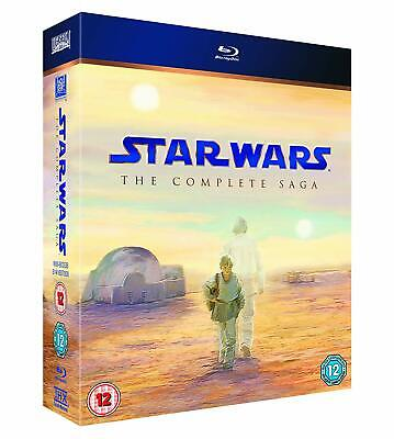 Star Wars: The Complete Saga (9-Disc Collection) [Blu-ray]  - ALL REGION