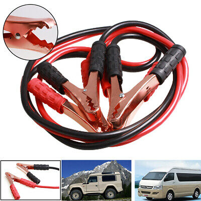 Car Van Jump Starter Leads Wire Battery Booster Start Cable 500A 2m Emergency