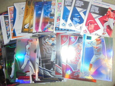 2019 Panini Chronicles VETERAN Base&Subset Singles~You Pick~MIKE TROUT,Acuna+HOT