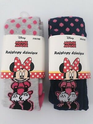 1 Pair Girls Children Cute Minnie Mouse Warm Pantyhose Tights Stockings Bottoms