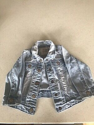 Beautiful Next Baby Toddler Girls Denim Jacket 12-18 Months