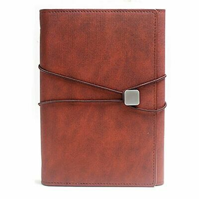 Creative Leather Business Planners With Lock Loose-Leaf Multi Function Notebooks