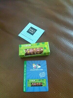 MS Little Shop Collectables Colin The Caterpillar Cake