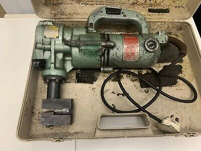 DUPLEX 240V HEAVY  DUTY SHEET METAL NIBBLER Works Great