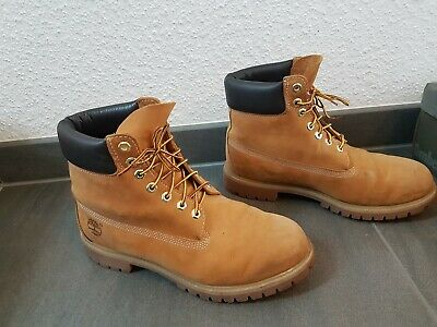 TIMBERLAND BOOTS STIEFEL 6 Inch Wheat Gr. 44,5 EUR 100,00