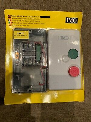 IMO SR02C DOL Starter 4kW 400V AC Enclosed