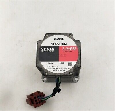 """Used Oriental Motor Vexta PK266-03A 2-Phase 1.8""""/STEP Stepping Motor gb"""