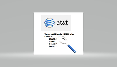 AT&T All Brands - Blacklist/ Barred/ Contract/ Fraud IMEI Status Checker