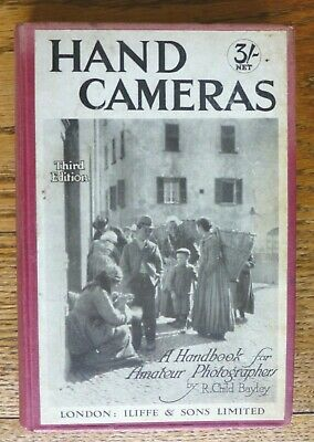 HAND CAMERAS, by R. Child Bayley. c1920 FREE UK POSTAGE