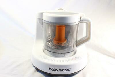 CLEAN Baby Brezza One Step Baby Food Maker Steamer Processor Blender White