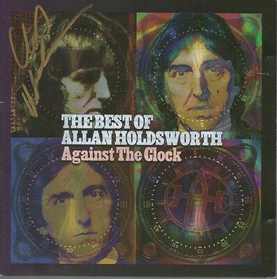 Against the Clock * by Allan Holdsworth (2 CD, 2005, Alternity) Original Signed