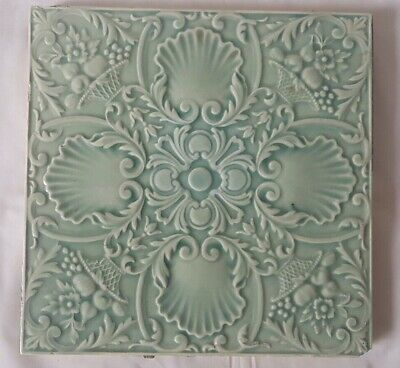Elegant Minton 6 Inch 19Th Century Tile With Gorgeous Tone