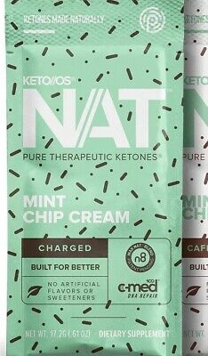 Pruvit Mint Chip Cream! 🍫 🍦Keto OS NAT Ketones | 1 Packet Fat Loss Energy