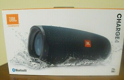 Nib Jbl Charge 4 Portable Bluetooth Speaker (Blue)