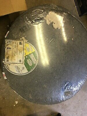 """18 X HTC Twister Diamond Floor Cleaning Pads  27"""" Americo White Yellow £100 Ng11"""