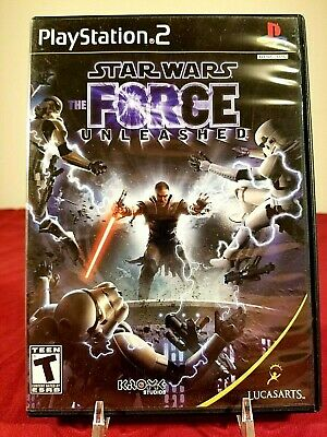 STAR WARS: The Force Unleashed (Sony PlayStation 2, PS2, 2008) CIB