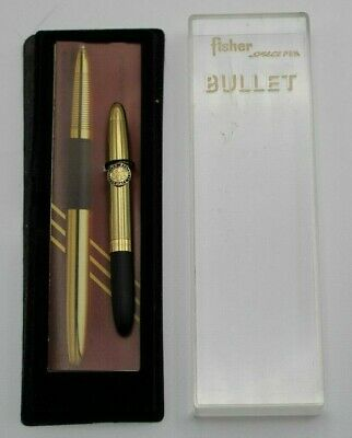 Fisher Space Pen 400 US House of Representatives Gold Button 1988